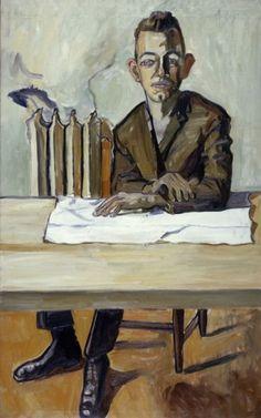 Alice Neel, Maynard Stone, 1964, oil on canvas, 132.1 x 81.3 cm.