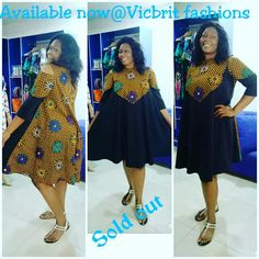 The complete pictures of latest ankara short gown styles of 2018 you've been searching for. These short ankara gown styles of 2018 are beautiful African Print Dress Designs, African Print Dresses, African Dress, African Attire, African Wear, African Women, Ankara Short Gown Styles, Short Gowns, Ankara Gowns
