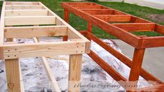 greenhouse tables and benches Greenhouse Benches, Diy Greenhouse, Diy Bench, View Source, Diy Table, Outdoor Furniture, Outdoor Decor, Fence, Recycling