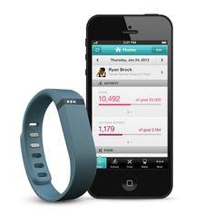 Trendy armbandje dat stappen en slaapbewegingen controleert #gadget #fitbit