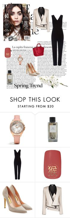 """""""Spring Jacket"""" by lovelysandy5 ❤ liked on Polyvore featuring Coach, Wallis, Rupert Sanderson and Bouchra Jarrar"""