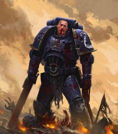 Warhammer 40k | Artwork | Space Marine http://wellofeternitypl.blogspot.com #artwork #art #aos #warhammer #40k #40000 #arts #artworks #gw #gamesworkshop #wellofeternity #wargaming