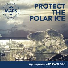 The polar ice is a natural resource protecting our planet and the vulnerable Arctic ecosystem. We need polar ice for healthy oceans and a healthy planet. Have you signed the Marine Arctic Peace Sanctuary yet? It only takes a moment of your time and helps make a difference! Please visit http://parvati.org/arctic-ocean