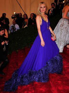 Actress and model Diane Kruger, wearing Prada. Photo: Chance Yeh/PatrickMcMullan.com