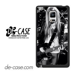 Avril Lavigne On Stage DEAL-1219 Samsung Phonecase Cover For Samsung Galaxy Note Edge