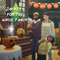 TS3 to TS4 Jackets (SIMBLREEN 2017) at Historical Sims Life • Sims 4 Updates