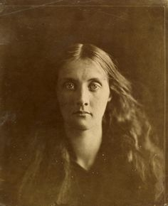 "Exhibition: 'Julia Margaret Cameron: from the Victoria and Albert Museum, London' at the Art Gallery of New South Wales (AGNSW), Sydney Part 2. ""This exhibition is one of the photographic highlights of the year."" http://artblart.com/2015/10/24/text-exhibition-julia-margaret-cameron-at-the-agnsw-sydney-part-2/ Photo: Julia Margaret Cameron. 'Julia Jackson' 1867"