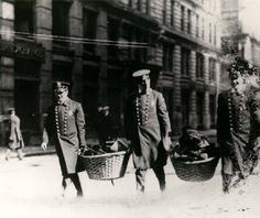 Police Collect Belongings of Triangle Shirtwaist Fire Victims