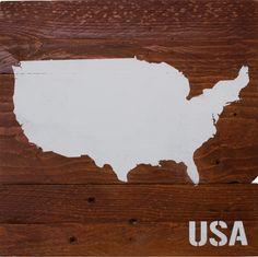 Verewige deine USA-Reise. Jetzt bestellen unter www.palettenbrett.de