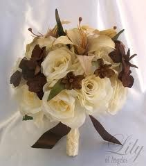 brown wedding flowers - Google Search