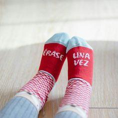 """Toda gran historia empieza con """"Érase una vez..."""" Deja que el peque de la casa comience a escribir su gran historia con estos #minicalcetines disponibles en #latiendadeuo #uo by uo_estudio"""