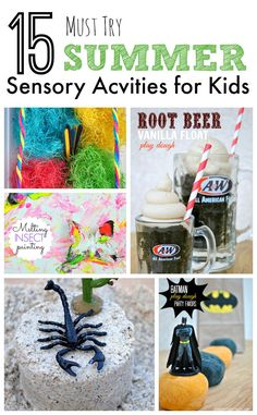15 Must Try Summer Sensory Activities for Kids