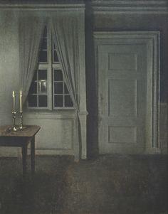 Vilhelm Hammershøi, ljustake