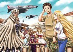 Manga Gate - Thus the JSDF Fought There- cápitulo 25 página Lust-Gate-JSDF_Cap_25_000a.jpg