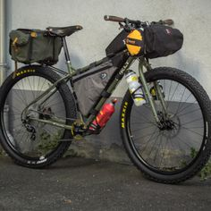 Surly Ogre Bikepacking
