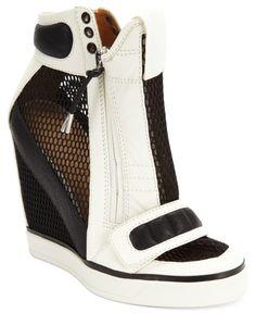 Lamb a B Shoes Pamela Platform Wedge Sneakers Women's | Shoes and Footwear