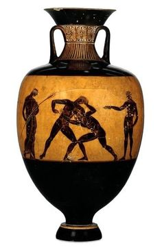 Panathenaic amphora: returning pankration to the Olympics