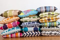 Avalo Home the New Bespoke Cushion Range by Working Mum......Designed and made in UK, £45