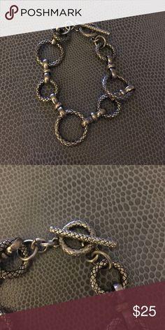 Lia Sophia Bracelet Beautiful silver bracelet Lia Sophia Jewelry Bracelets