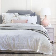 Give an attractive and fresh look into your room using linen duvet bedding for more comfortable feeling during your sleep.
