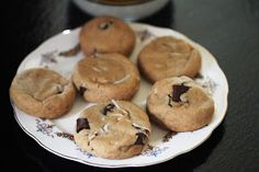 Kitchen Grrrls.: Vegan Coconut Oil Chocolate Chip Cookies - Minus the coconut flakes... This could be really good!