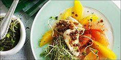 20 Minuten - Poulet auf Zitrussalat mit Sprossen - News