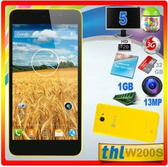 ThL W200S 1GB Octa Core 13MP Compra moviles chinos batatos Core, Shopping