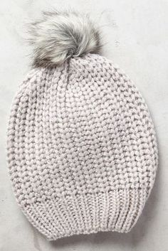 cadha beanie / anthropologie my Knitting Accessories, Winter Accessories, Come Undone, Cold Weather Fashion, Winter Wear, Winter Wardrobe, Dress To Impress, Knitted Hats, Autumn Fashion