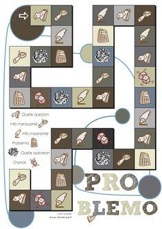 Problemo : jeu de résolution de problème pour le cycle 3 (mon école)