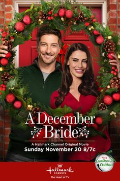 """Its a Wonderful Movie - Your Guide to Family Movies on TV: 'A December Bride' - a Hallmark Channel Original """"Countdown to Christmas"""" Movie"""