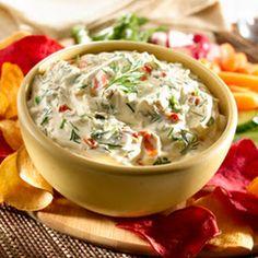 Creamy Dilled Vegetable Dip With Hellmann's Dijonnaise Creamy Dijon Mustard, Knorr® Vegetable Recipe Mix, Sour Cream, Fresh Dill