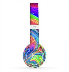 The Neon Color Fusion V9 Skin for the Beats by Dre by iinLuv