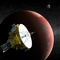 Did you know that NASA has a mission to Pluto and the Kuiper Belt underway, right now?  Traveling for 9 years and 3 billion miles, New Horizons will pass by Pluto in 2015.