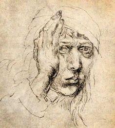 Albrecht Dürer Self portrait 1491 Albrecht Durer Paintings, Albrecht Dürer, Dancing Drawings, Cute Drawings, Rembrandt Portrait, Renaissance Artists, Painting Studio, Funny Tattoos, Gravure