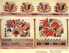 Hello all,  I am working on an overview of Bulgarian costume and I ran across a large number of embroidery designs from this one distric...
