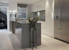 cozinha cinza e branco decoracao assim eu gosto