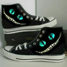 Puss in Boots Custom Cheshire cat hand painted shoes gift canvas shoes girls  boys shoes women men shoes converse  762556e007a1