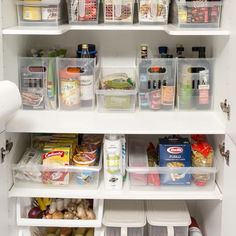 Mimi's, Amalie and Marie Storage baskets make the biggest difference in this kitchen makeover from Howards Storage World.