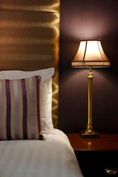 Forstercourt Hotel Galway Ireland - Lamp & Bed © David Cantwell Photography Hotel Bedrooms, Breakout Area, Galway Ireland, Pent House, Drawing Room, Hotel Wedding, Swimming Pools, David, Interiors