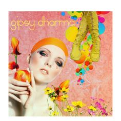 """Orange Blossom"" by gipsy-dharma on Polyvore"