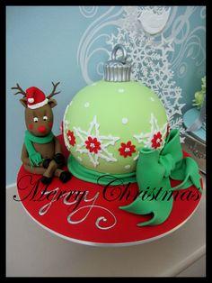 christmas cake designs uk - Google Search