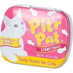 Chomp Pit'r Pat Liver Flavor Tasty Treats for Cats by Chomp *** Wonderful of your presence to drop by to view our photo. (This is an affiliate link) Healthy Cat Treats, Yummy Treats, Cat Reading, Cat Fleas, Cat Memorial, Cat Accessories, Cat Grooming, Pet Care, Pets