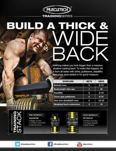 Looking for a great routine to help you build the back of your dreams? Give this workout a shot and get HUGE!