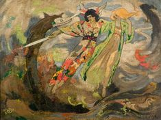 Centuries Past, The Glaive of Light [1897] John Duncan (1866–1945)...