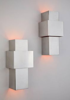 "Pair of ""Love"" Sconces by Willy Rizzo for Italia 3"