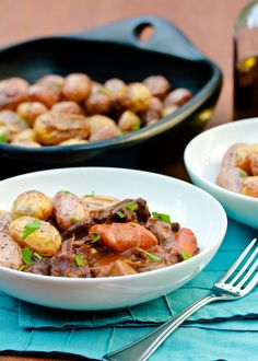 Venison Bourguignon from @Sommer {A Spicy Perspective}