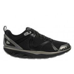 MBT Men's Simba 5 Raven / Black / Neutral Gray / Silver : $134.50 Silver Shoes, Raven, Neutral, Collections, Grey, Sneakers, Black, Fashion, Gray