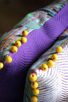 Made in Guatemala. Pillows by Lorenza Filati