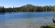 Summit Lake - Lassen Volcanic National Park