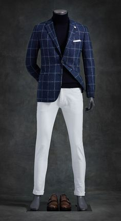 Luxury & Vintage Madrid, bring you the world's best selection of contemporary and vintage clothing, discover our top brands Blazer Outfits Men, Casual Outfits, Casual Suit, Mens Fashion Suits, Mens Suits, Mode Bcbg, Traje Casual, Winter Mode, Sharp Dressed Man
